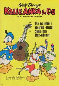 Cover Thumbnail for Kalle Anka & C:o (Hemmets Journal, 1957 series) #20/1966