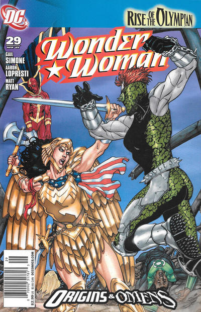 Cover for Wonder Woman (DC, 2006 series) #29 [Marcos Martin Cover]