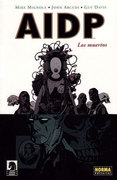Cover for AIDP (NORMA Editorial, 2004 series) #4