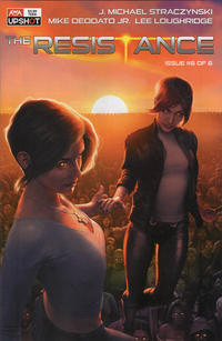 Cover for The Resistance (AWA Studios [Artists Writers & Artisans], 2020 series) #6