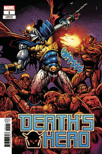 Cover Thumbnail for Death's Head (Marvel, 2019 series) #1 [Sharp Remastered Variant]