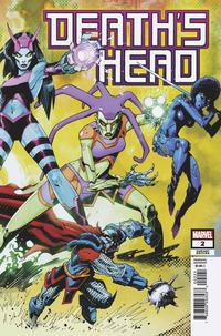 Cover Thumbnail for Death's Head (Marvel, 2019 series) #2 [John McCrea 'Connecting']