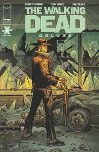 Cover Thumbnail for The Walking Dead Deluxe (Image, 2020 series) #1 [Tony Moore & Dave McCaig Cover]
