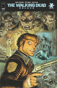 Cover Thumbnail for The Walking Dead Deluxe (Image, 2020 series) #1 [Arthur Adams & Dave McCaig Cover]