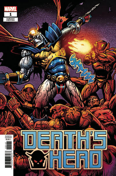 Cover for Death's Head (Marvel, 2019 series) #1 [McKone Variant]