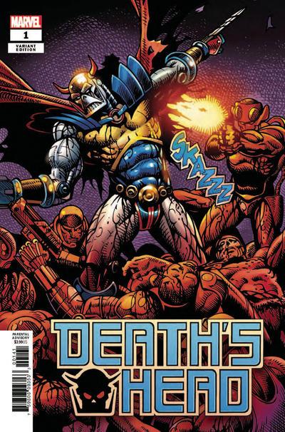 Cover for Death's Head (Marvel, 2019 series) #1 [John McCrea 'Connecting']