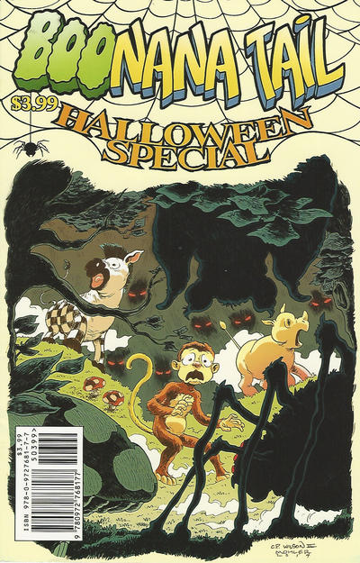 Cover for Boonana Tail Halloween Special (Banana Tale Press, 2014 series)