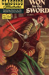 Cover for Classics Illustrated (Gilberton, 1947 series) #151 [HRN 164] - Won by the Sword