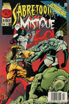 Cover Thumbnail for Mystique & Sabretooth (1996 series) #4 [Newsstand]