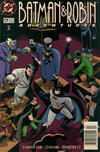 Cover for The Batman and Robin Adventures (DC, 1995 series) #17 [Newsstand]