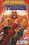 Cover Thumbnail for Deadpool vs Thanos (2015 series) #1 [Ron Lim Variant]