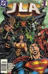 Cover for JLA (DC, 1997 series) #1 [Newsstand]