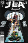 Cover for JLA (DC, 1997 series) #8 [Newsstand]