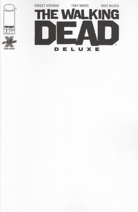 Cover Thumbnail for The Walking Dead Deluxe (Image, 2020 series) #1 [Blank Variant]