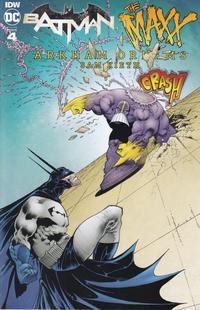 Cover Thumbnail for Batman / The Maxx: Arkham Dreams (IDW, 2018 series) #4 [Cover B]