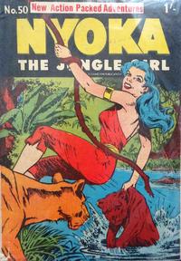 Cover Thumbnail for Nyoka the Jungle Girl (Cleland, 1949 series) #50