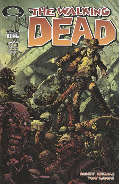 Cover for The Walking Dead #1 15th Anniversary (Image, 2018 series)