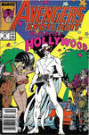Cover for Avengers Spotlight (Marvel, 1989 series) #23 [Newsstand]