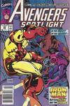 Cover for Avengers Spotlight (Marvel, 1989 series) #29 [Newsstand]