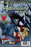 Cover for Adventure Comics (DC, 2009 series) #7 / 510 [Newsstand]