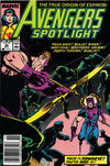 Cover for Avengers Spotlight (Marvel, 1989 series) #24 [Newsstand]