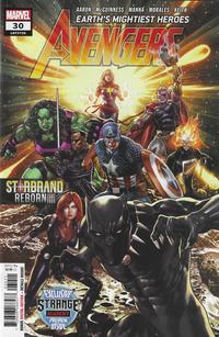 Cover Thumbnail for Avengers (Marvel, 2018 series) #30 (730)