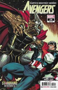 Cover Thumbnail for Avengers (Marvel, 2018 series) #28 (728)