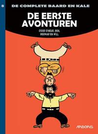 Cover Thumbnail for De complete Baard en Kale (Arboris, 2014 series) #8 - De eerste avonturen