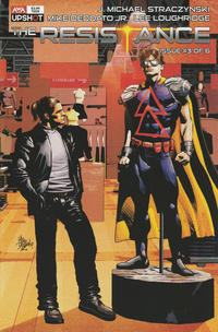 Cover Thumbnail for The Resistance (AWA Studios [Artists Writers & Artisans], 2020 series) #3 [Mike Deodato Jr. Cover]