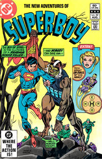 Cover Thumbnail for The New Adventures of Superboy (DC, 1980 series) #32 [Direct]