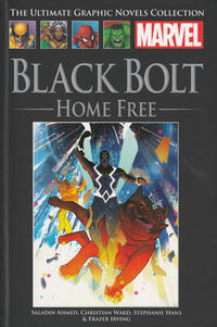 Cover Thumbnail for The Ultimate Graphic Novels Collection (Hachette Partworks, 2011 series) #188 - Black Bolt: Home Free