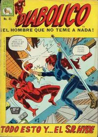 Cover Thumbnail for Diabólico (Editora de Periódicos La Prensa S.C.L., 1966 series) #83