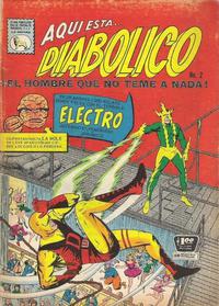 Cover Thumbnail for Diabólico (Editora de Periódicos La Prensa S.C.L., 1966 series) #2