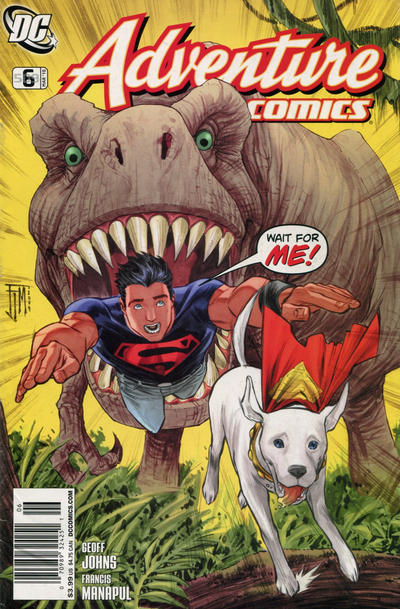 Cover for Adventure Comics (DC, 2009 series) #6 / 509 [6 Cover]