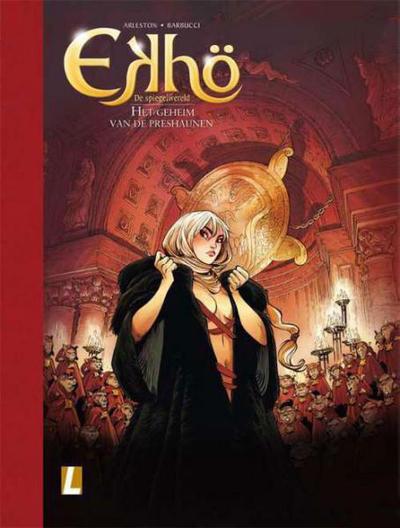 Cover for Ekhö de spiegelwereld (Uitgeverij L, 2013 series) #5 - Het geheim van de Preshaunen