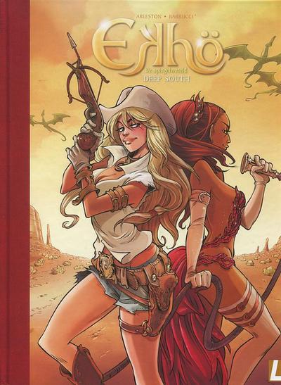Cover for Ekhö de spiegelwereld (Uitgeverij L, 2013 series) #6 - Deep South