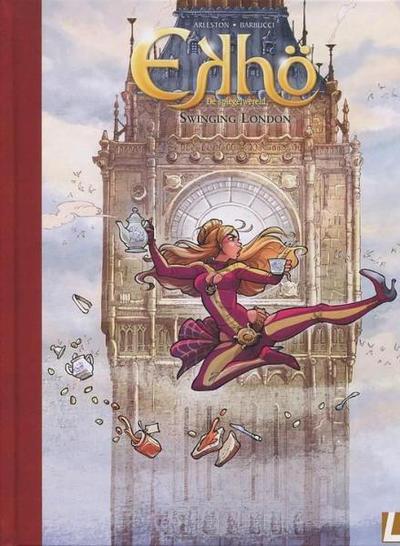 Cover for Ekhö de spiegelwereld (Uitgeverij L, 2013 series) #7 - Swinging London