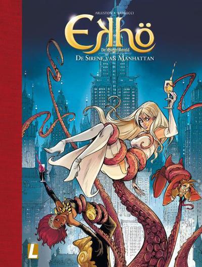 Cover for Ekhö de spiegelwereld (Uitgeverij L, 2013 series) #8 - De sirene van Manhattan