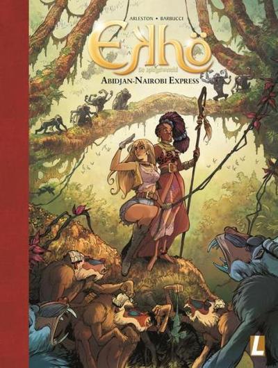 Cover for Ekhö de spiegelwereld (Uitgeverij L, 2013 series) #9 - Abidjan-Nairobi Express