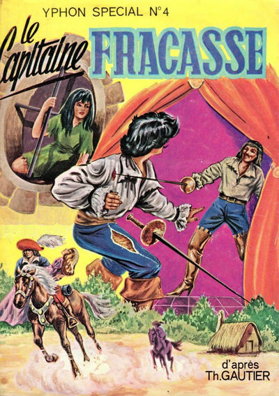 Cover for Yphon Spécial (S.E.G (Société d'Editions Générales), 1967 series) #4