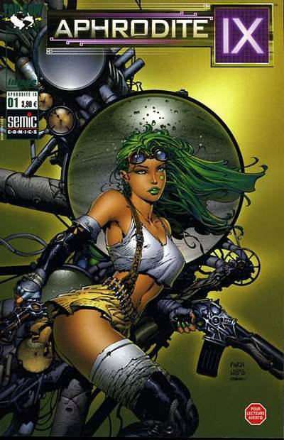 Cover for Aphrodite IX (Semic S.A., 2002 series) #1