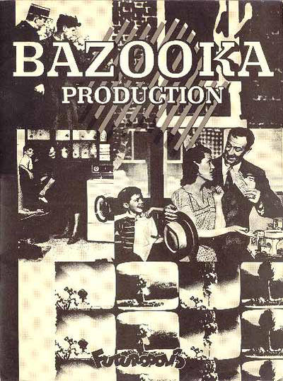 Cover for Bazooka production (Futuropolis, 1977 series)