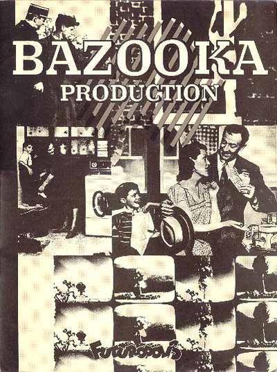 Cover for Bazooka production (Futuropolis, 1977 series)