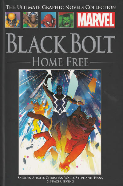 Cover for The Ultimate Graphic Novels Collection (Hachette Partworks, 2011 series) #188 - Black Bolt: Home Free
