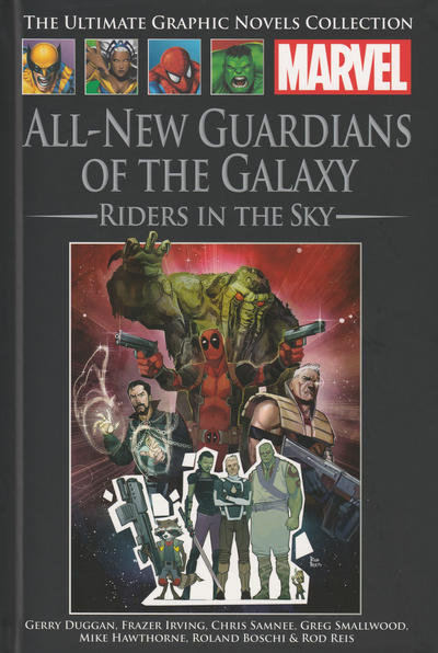 Cover for The Ultimate Graphic Novels Collection (Hachette Partworks, 2011 series) #186 - All-New Guardians of the Galaxy: Riders in the Sky