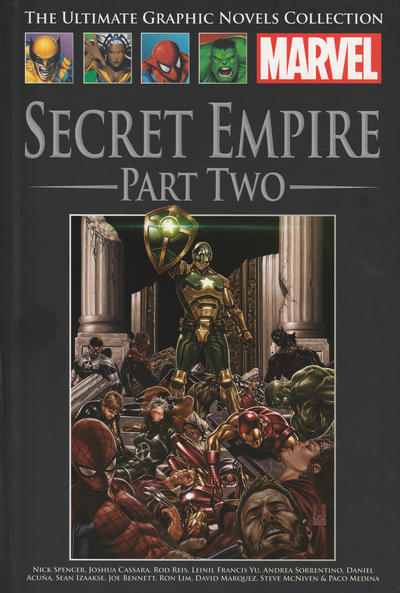 Cover for The Ultimate Graphic Novels Collection (Hachette Partworks, 2011 series) #184 - Secret Empire Part Two