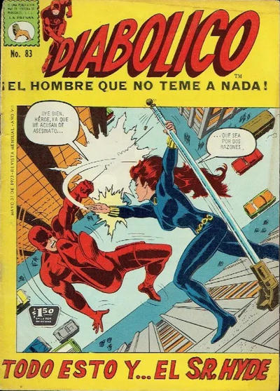 Cover for Diabólico (Editora de Periódicos La Prensa S.C.L., 1966 series) #83