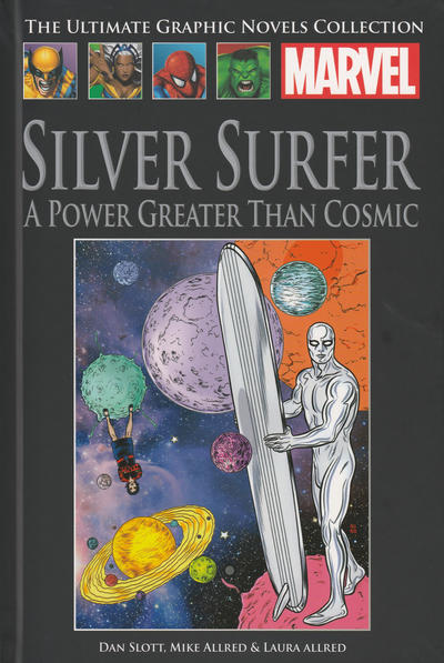 Cover for The Ultimate Graphic Novels Collection (Hachette Partworks, 2011 series) #181 - Silver Surfer: A Power Greater than Cosmic