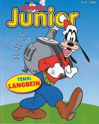 Cover Thumbnail for Donald Duck Junior (Hjemmet / Egmont, 2018 series) #11/2020