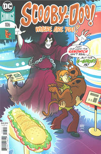 Cover Thumbnail for Scooby-Doo, Where Are You? (DC, 2010 series) #106